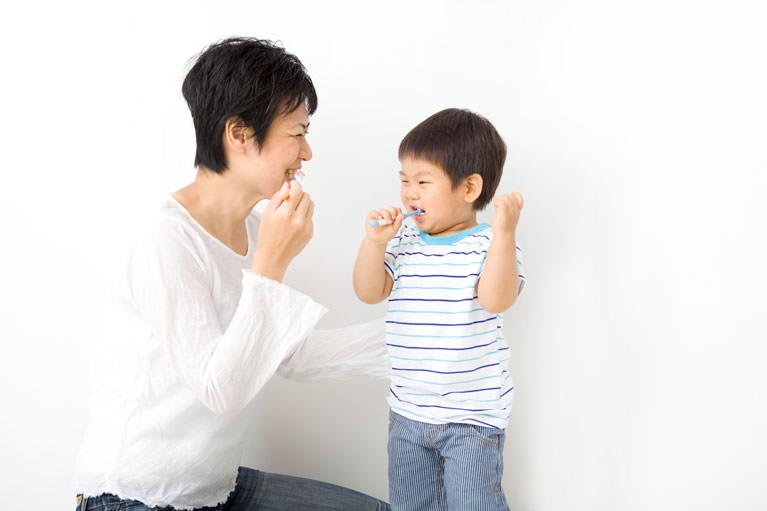 歯を守ることの大切さを、お子さんにも伝えて欲しい